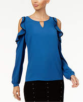 Thalia Sodi Ruffled Off-The-Shoulder Top, Created for Macy's
