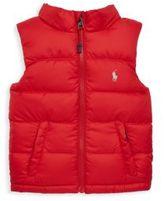 Ralph Lauren Baby Boy's Puffer Outerwear Vest