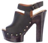 Givenchy Cutout Platform Sandals