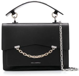 Karl Lagerfeld Paris Chain-Link Tote Bag