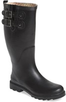 Chooka Women's Satin Finish Waterproof Rain Boot