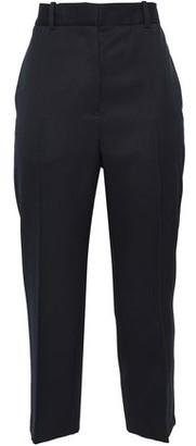 Jil Sander Cropped Wool-twill Straight-leg Pants