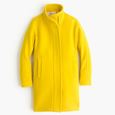 J.Crew Tall stadium-cloth cocoon coat