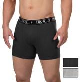 Izod Cotton Boxer Briefs - 3-Pack (For Men)