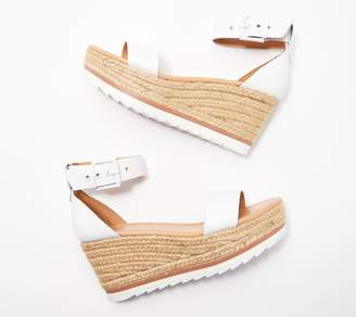 Marc Fisher Leather or Suede Espadrille Wedges - Zako