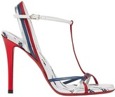 Fendi FendiMania strappy stiletto sandals