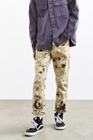 Urban Outfitters Crinkle Bleached Levi's 511 Slim Jean