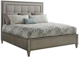 Lexington St. Tropez Upholstered Panel Bed 5/0 Queen