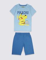 Marks and Spencer Pokemon Short Pyjamas (4-16 Years)