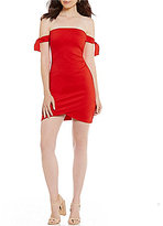 Gianni Bini Paula Tie Sleeve Surplus Dress