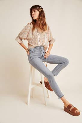 A Gold E Agolde AGOLDE Nico High-Rise Slim Jeans