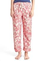 Gap Print roll-tab sleep pants