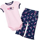 "Carter's Mommy's Little Girl"" Bodysuit & Pants Set"