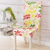 Sundliht Fashion Stretch Removable Washable Dinin Chair Protector Cover Slipcover