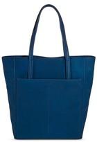 Merona Women's Faux Leather Tote Handbag