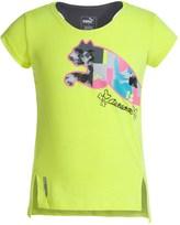 Puma Hi-Lo T-Shirt - Crew Neck, Short Sleeve (For Little Girls)