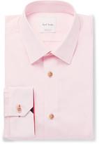 Paul Smith Pink Soho Slim-Fit Cotton-Poplin Shirt