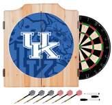 NCAA Wood Dart Cabinet Set - Fade