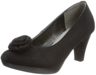 Andrea Conti Womens 1006485 Pumps Black Schwarz (Schwarz 002) Size: 39
