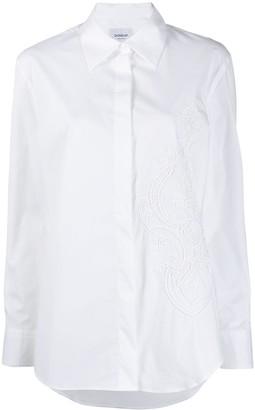 Dondup paisley-embroidered shirt