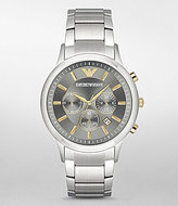 Emporio Armani Chronograph & Date Bracelet Dress Watch