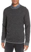 Nordstrom Stripe Cashmere Crewneck Sweater
