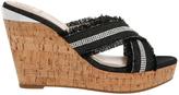 GUESS Evalea Black Sandal