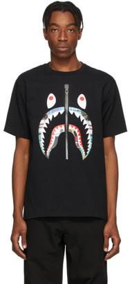 BAPE Black Patchwork Shark T-Shirt