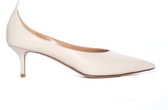 Francesco Russo Ivory Pointed Pump
