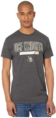 Champion College UCF Knights Keystone Short Sleeve Tee (True Black Novelty) Men's Clothing