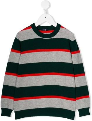 Il Gufo Block Stripes Sweater