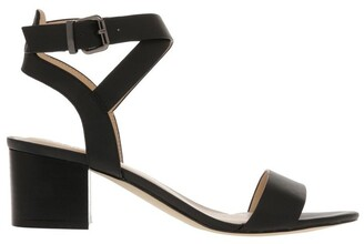 Verali Ezra Black Smooth Sandal