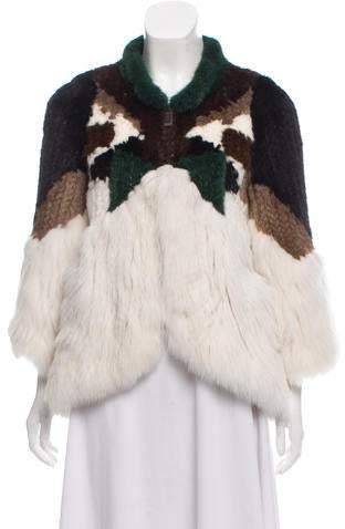J. Mendel Mink & Fox Fur Jacket