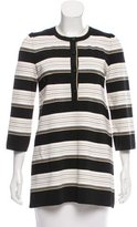 Chanel Striped Silk Tunic