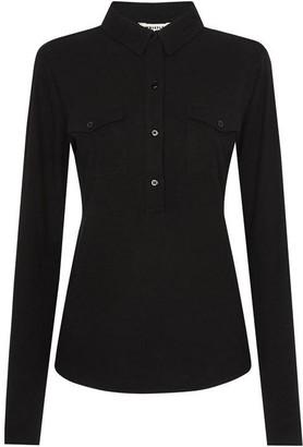 Whistles Jersey Cotton Pocket Shirt