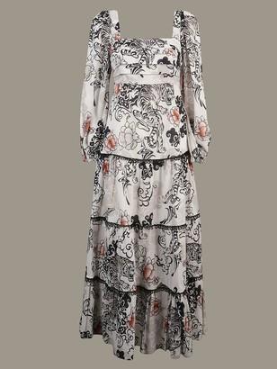 Pinko Long Patterned Dress