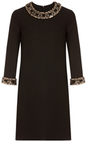 Gucci Embellished Shift Dress