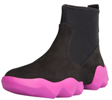 Camper Dub Contrast Sole Ankle Boots
