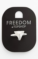 Topshop Triangle Ring