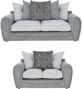 Mosaic 3-Seater + 2-SeaterFabric Sofa Set (Buy and SAVE!)
