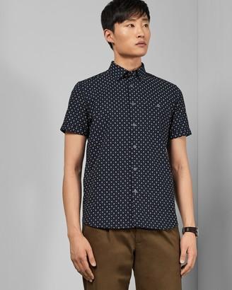 Ted Baker POLARBE Small dot cotton shirt