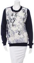 Prabal Gurung Embellished Wool & Silk-Blend Sweater
