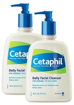 Cetaphil Normal to Oily Skin Daily Facial Cleanser Set - 2 Pack