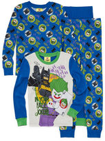 Lego Batman 4 pc Pajama Set - Boys 4-20