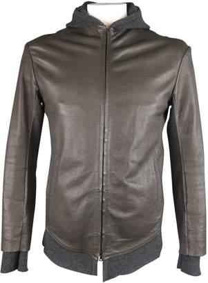 Isaac Sellam Grey Leather Jackets