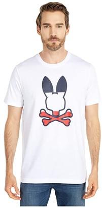 Psycho Bunny Victory T-Shirt (White) Men's Clothing