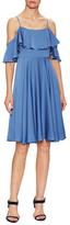 Milly Emmaline Cotton Flared Dress
