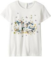 Dolce & Gabbana Caltagirone Floral Print T-Shirt Girl's T Shirt