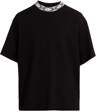 Acne Studios Eternal Logo-Trimmed T-Shirt