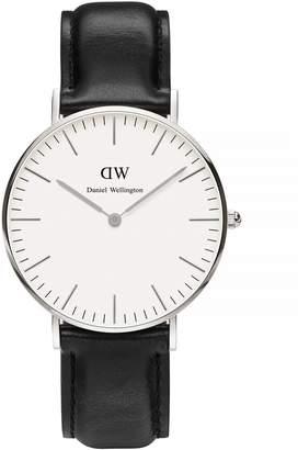 Daniel Wellington Classic Sheffield 36mm Leather Watch